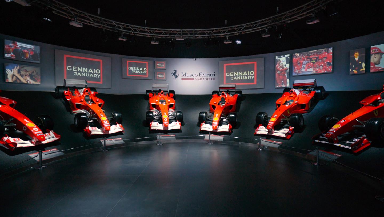 Michael 50 Sergisi Ferrari Müzesinde Sergileniyor 1